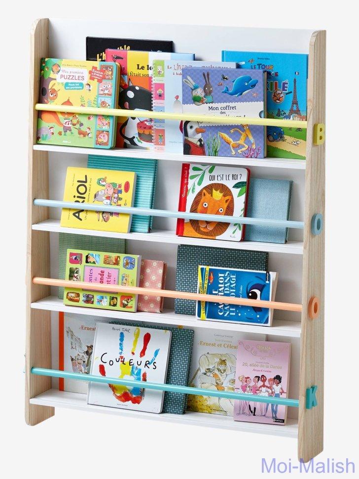 Полка для книг в детскую картинка